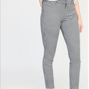 Gingham Print Pants